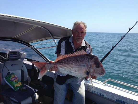 Pinky caught off Bunbury