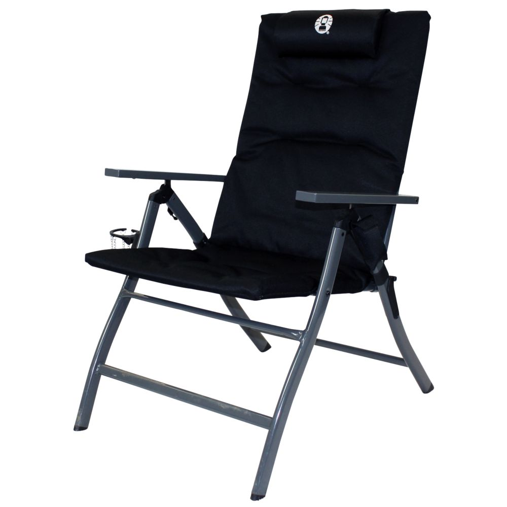 5 POSITION PADDED CHAIR WITH GLASSP