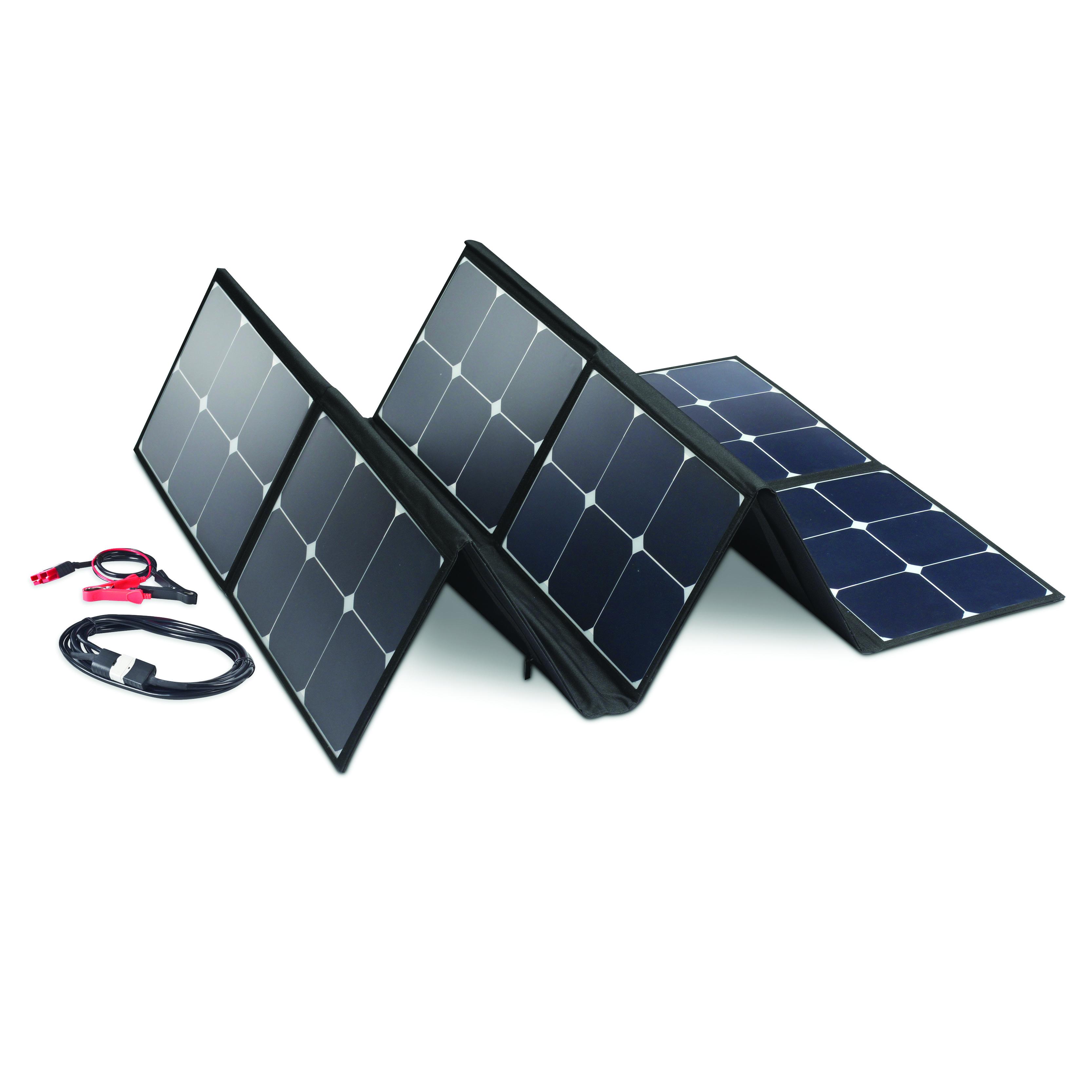 90 Watt Folding Solar Panel Getaway Outdoors