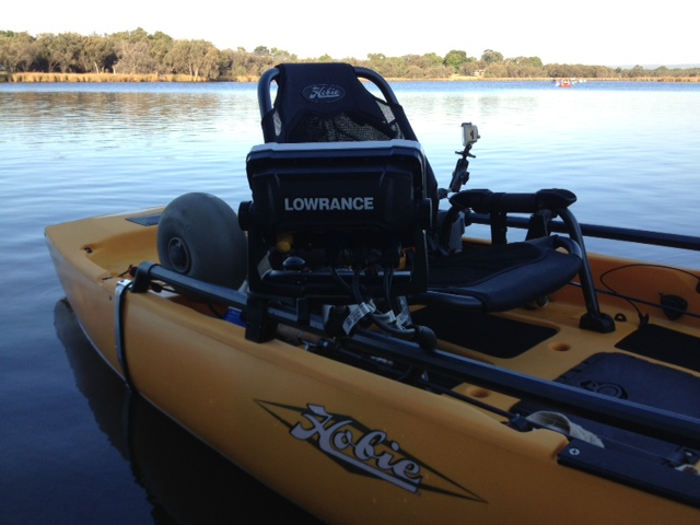 Fitting a Lowrance HDS7 Gen2 Touch on Pro Angler 12 - by Brett Ozanne