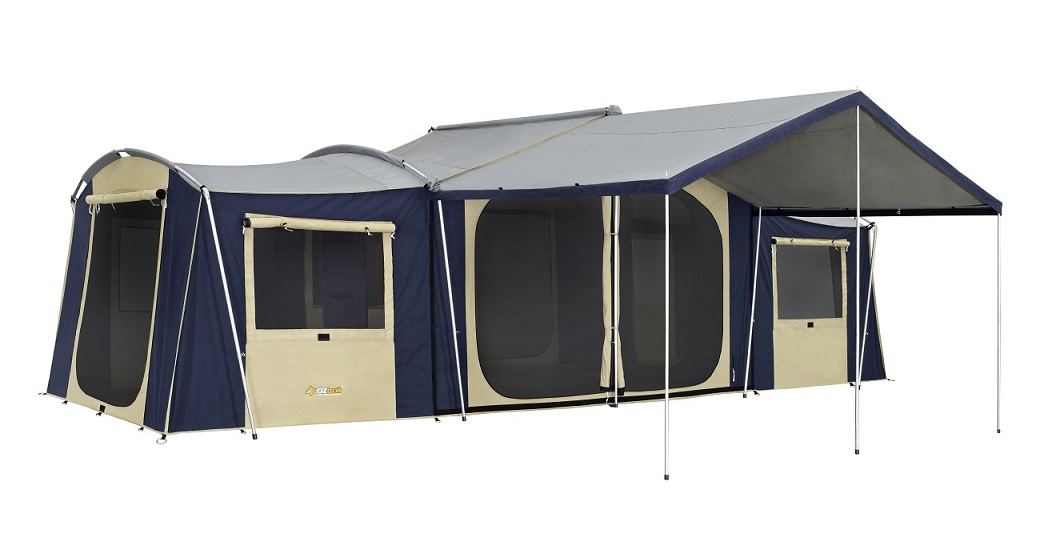 Chateau 12 Canvas Tent  sc 1 st  Getaway Outdoors & Tourer Tents | GETAWAY OUTDOORS