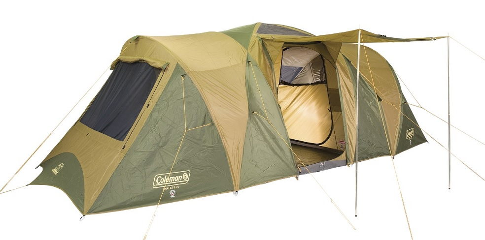 Cougar Sundowner Tent & 4 Person Extended Dome Tent