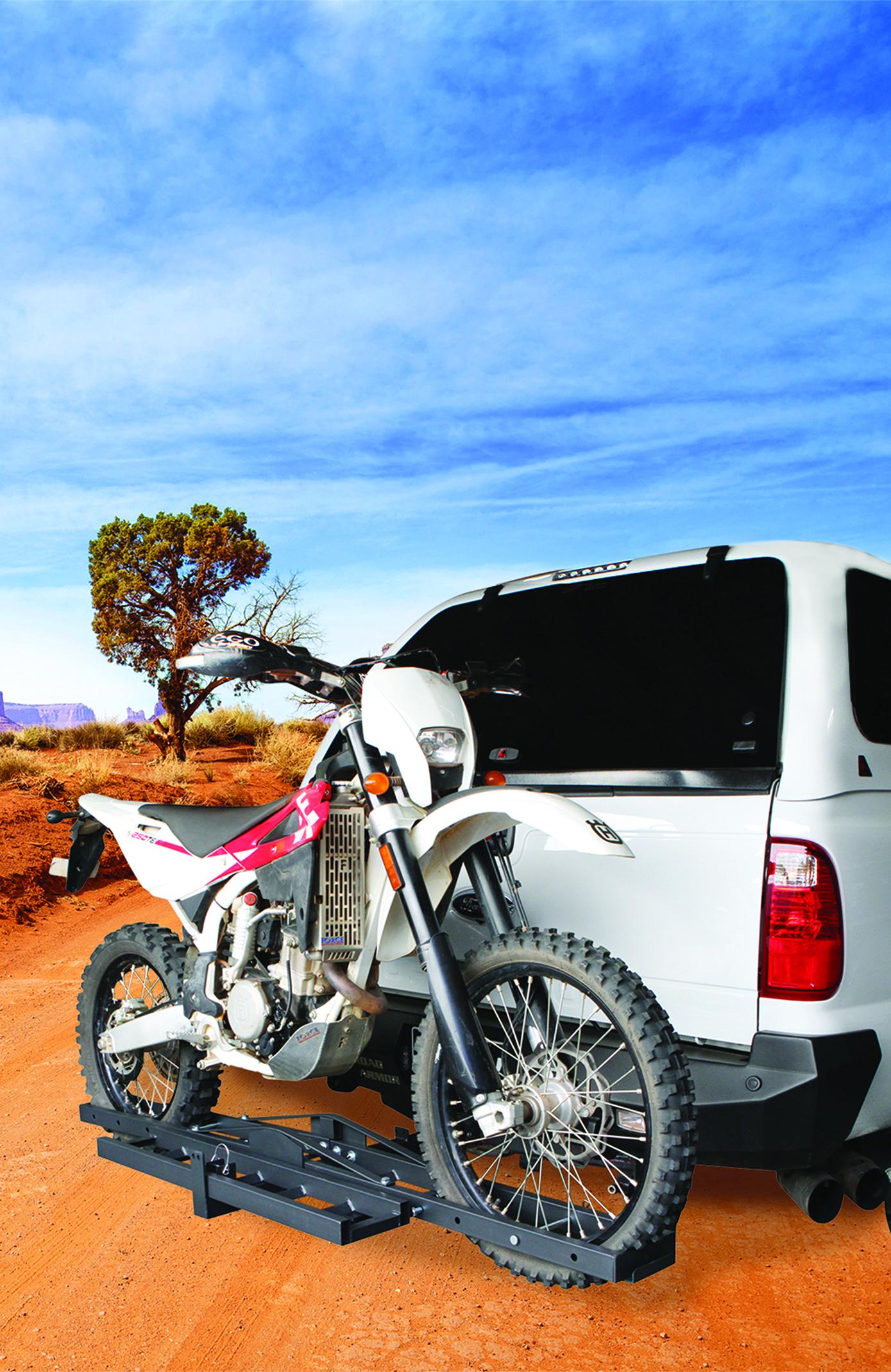 Dirt Bike Ramp >> Dirt Bike and Motor Bike Carrier Rack   GETAWAY OUTDOORS