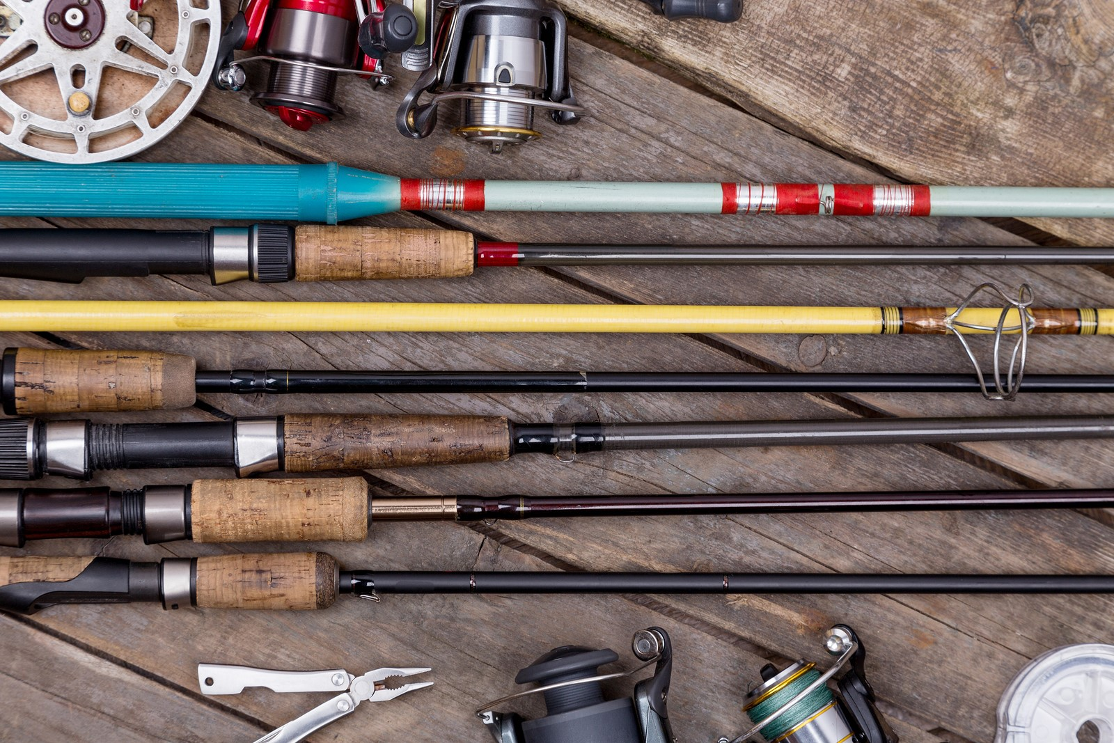 Learn about the different types of fishing rods before for Best beginner fishing rod